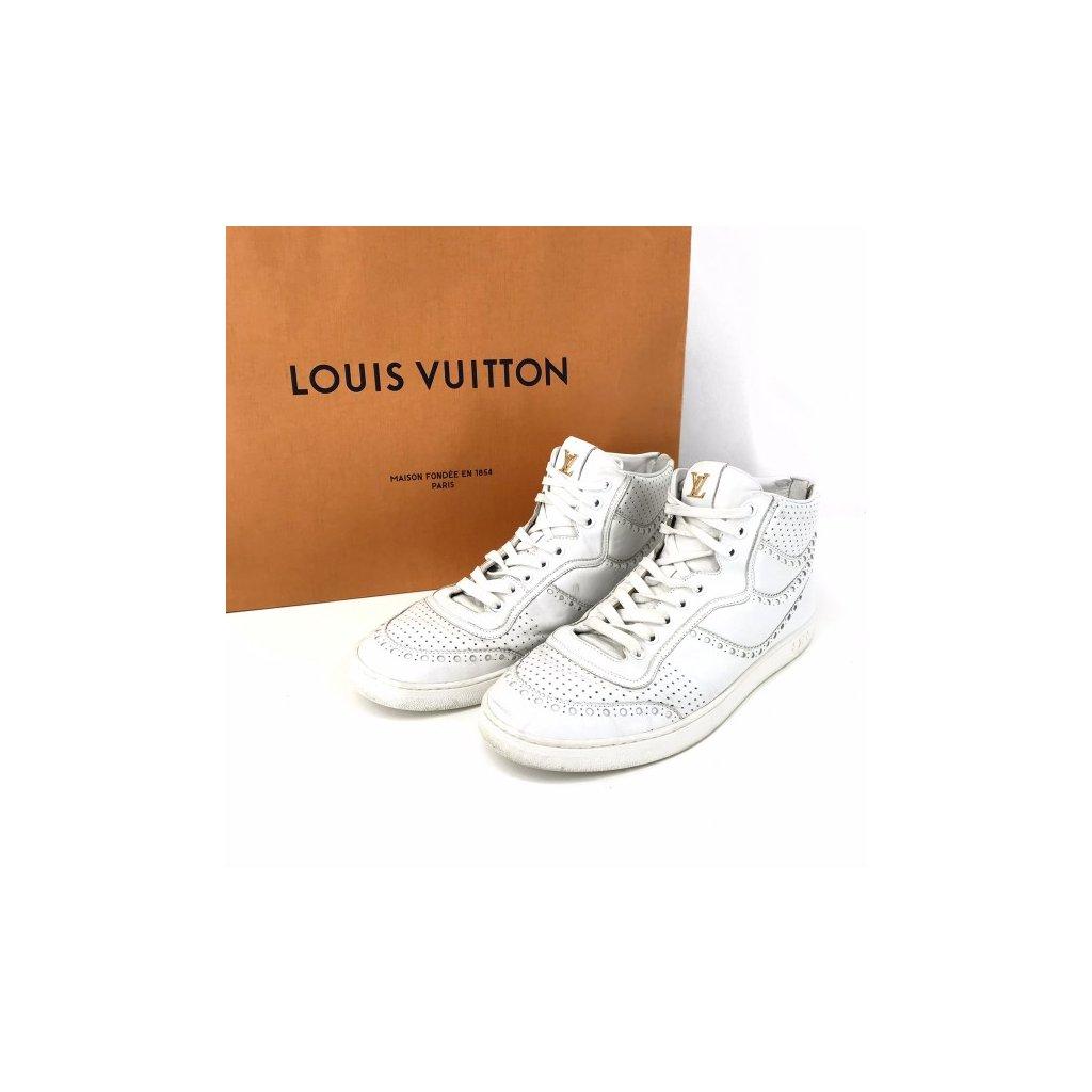 LOUIS VUITTON White Ankle Shoes