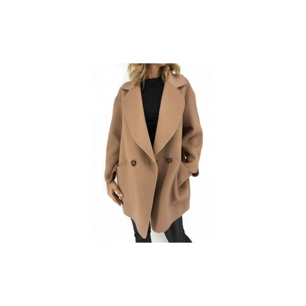 MARELLA Beige Wool&Cashmere Coat