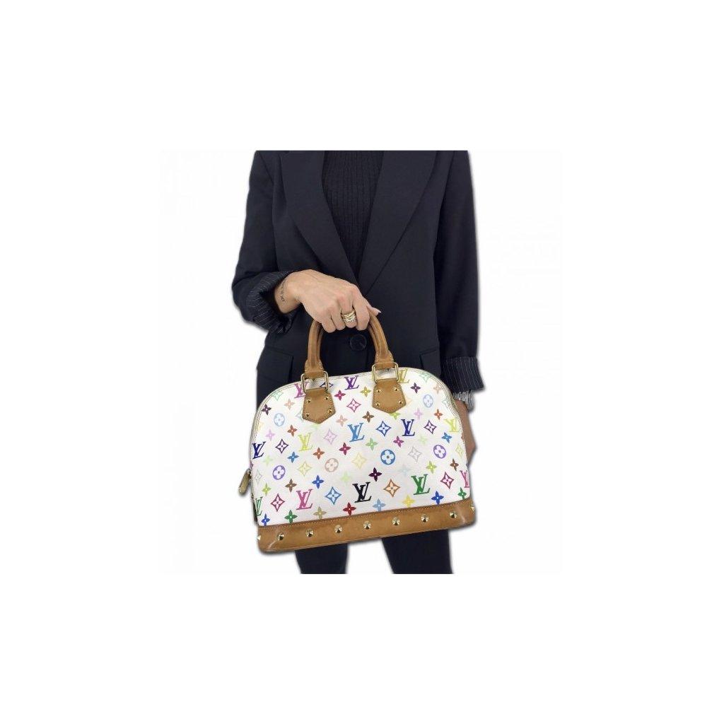 LOUIS VUITTON Multicolor Alma Handbag