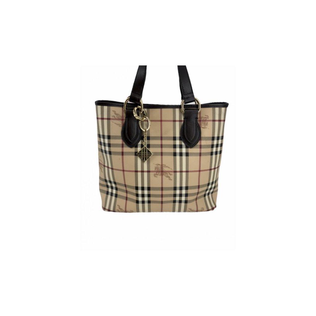 BURBERRY Tote Handbag Logo Print