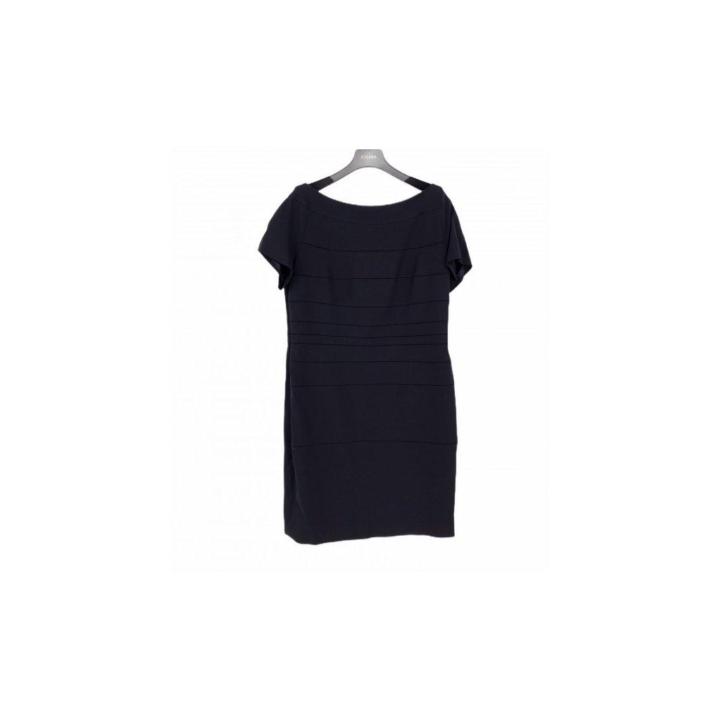 ESCADA Dark Blue Dress