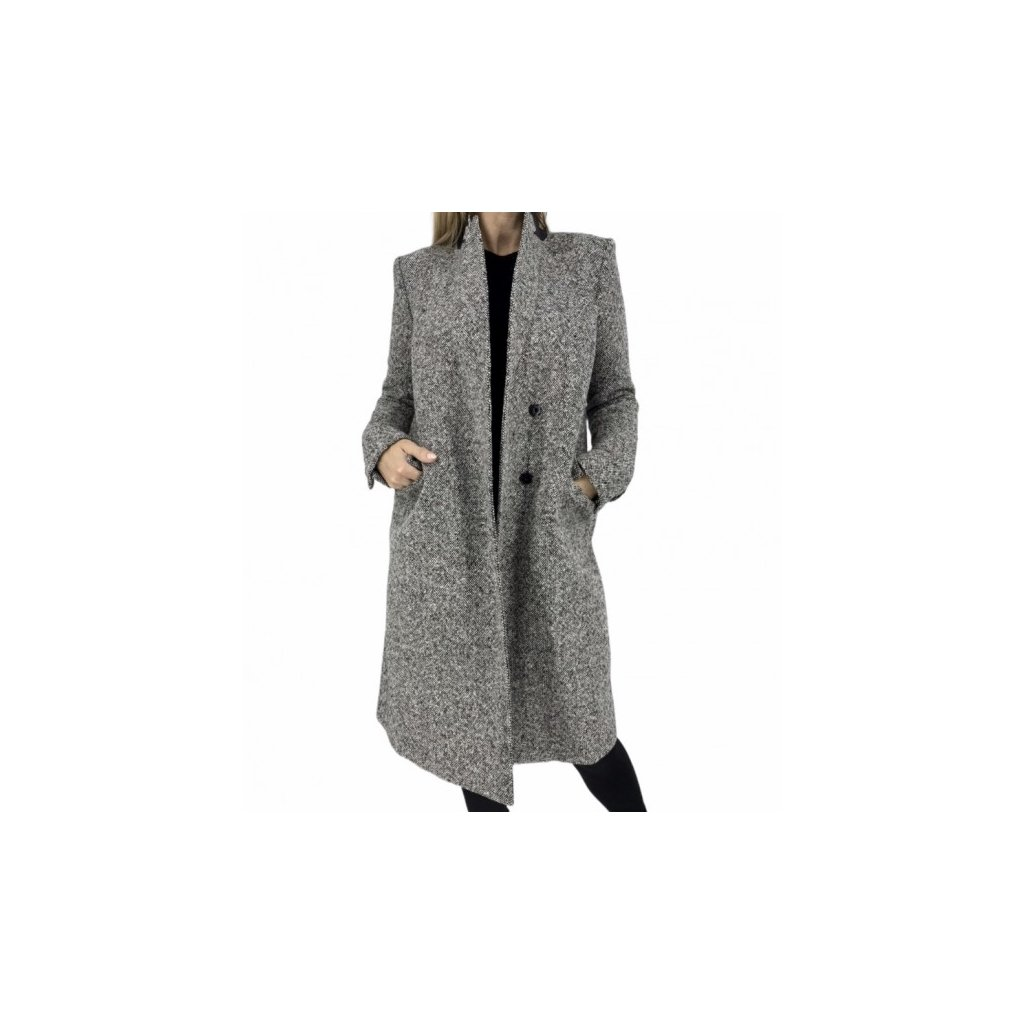 SAINT LAURENT Virgin Wool Coat