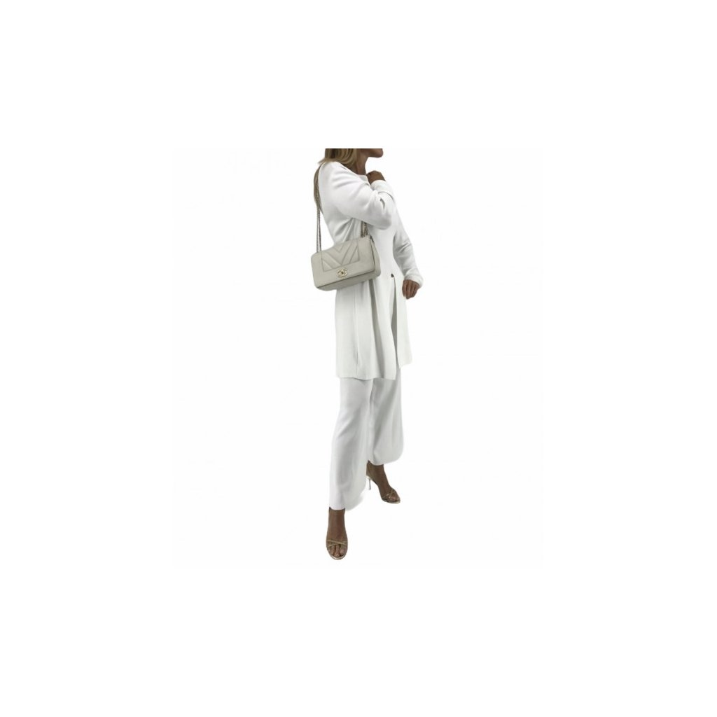 White Elegant Tracksuit