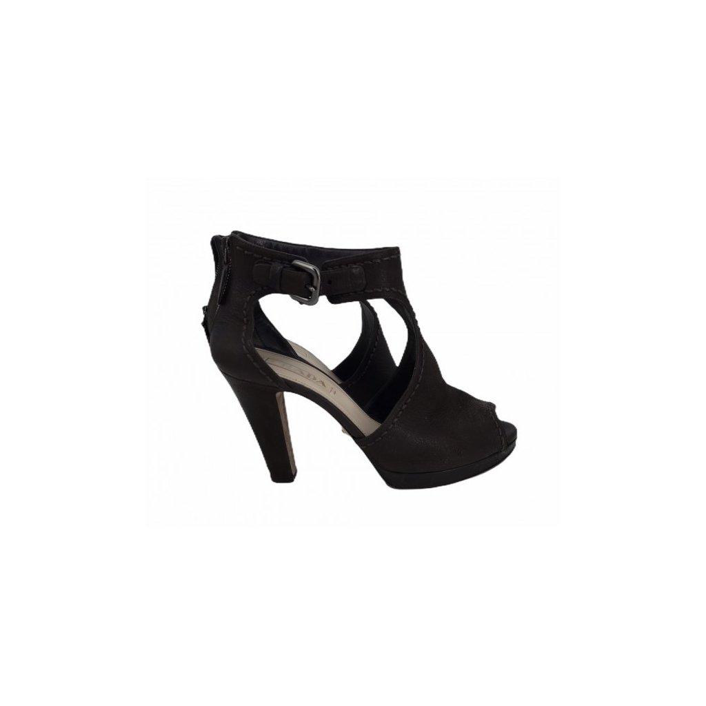 PRADA Dark Brown Heels