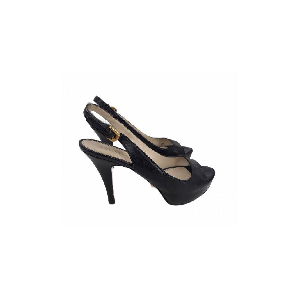 PRADA Black High Heels 36,5