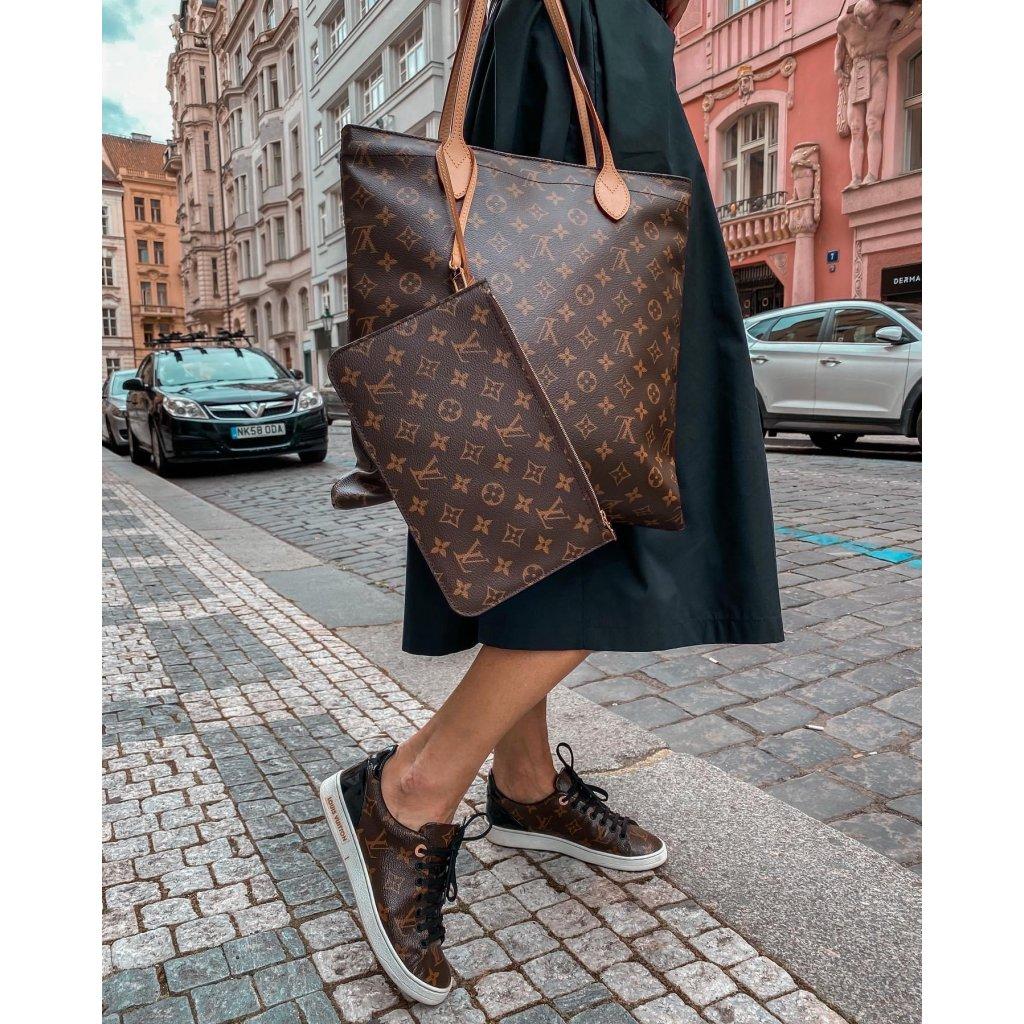 LOUIS VUITTON Carry It Monogram Canvas Bag NEW