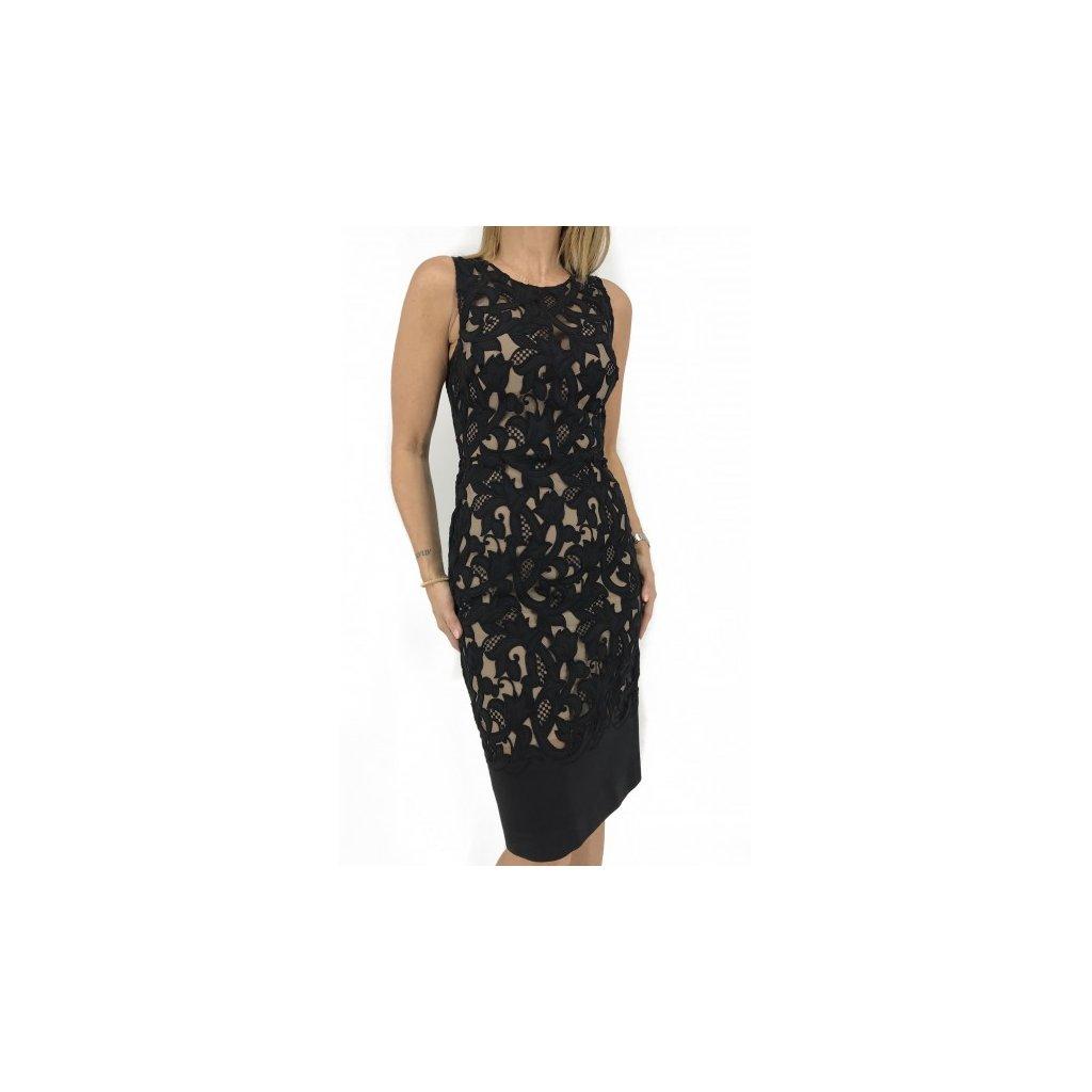 BURBERRY Black Laced Dress
