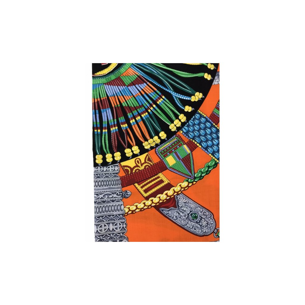 HERMÉS Colorful Cashmere Scarf NEW