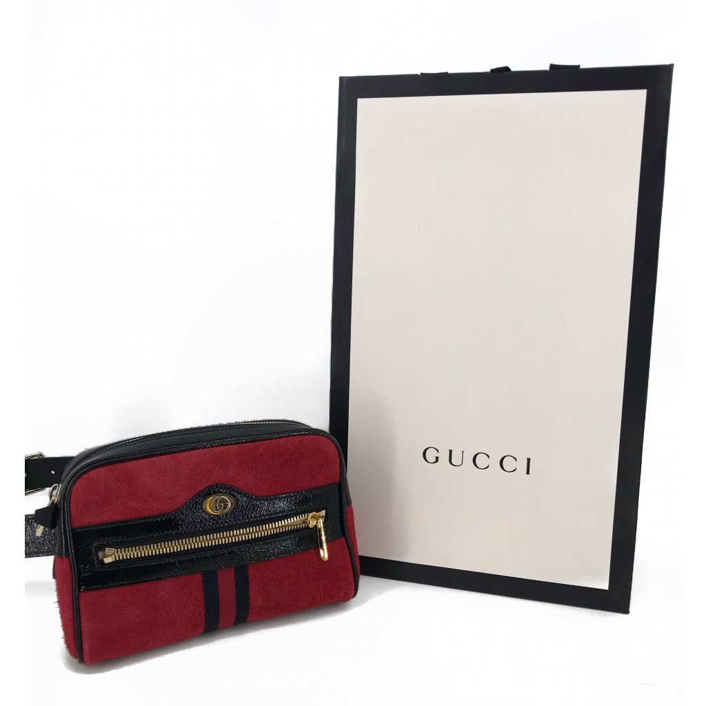 GUCCI Ophidia Red Belt Bag NEW