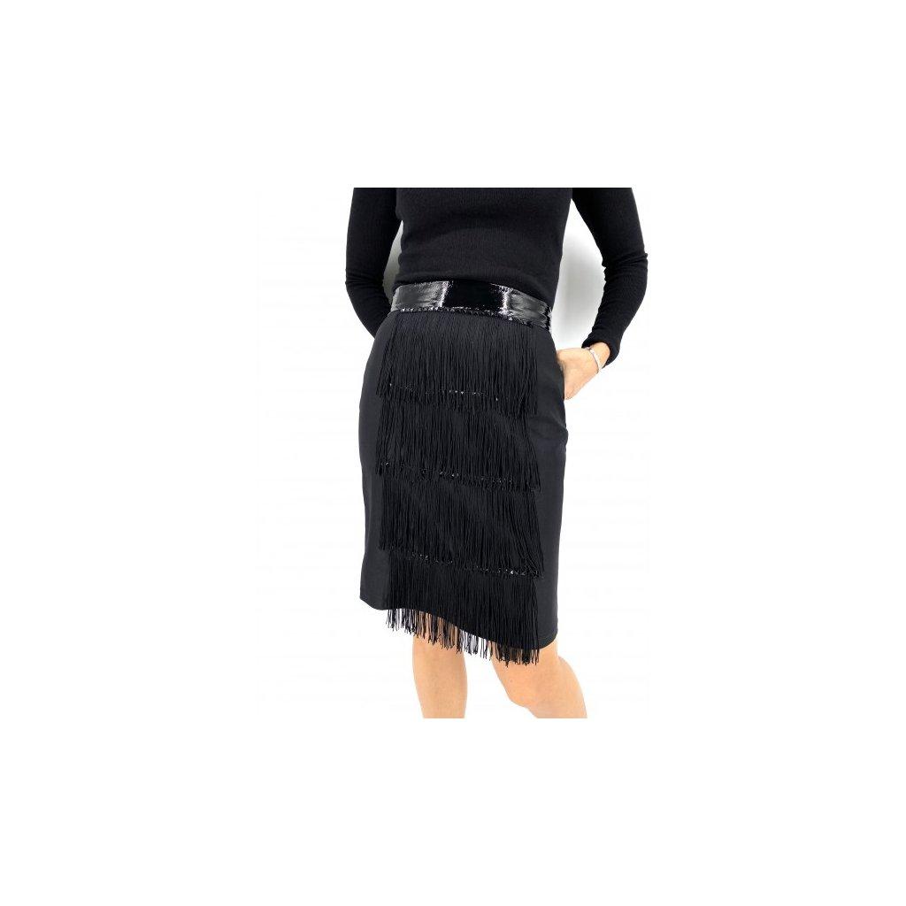 ALICE ABRAHAM Black Skirt