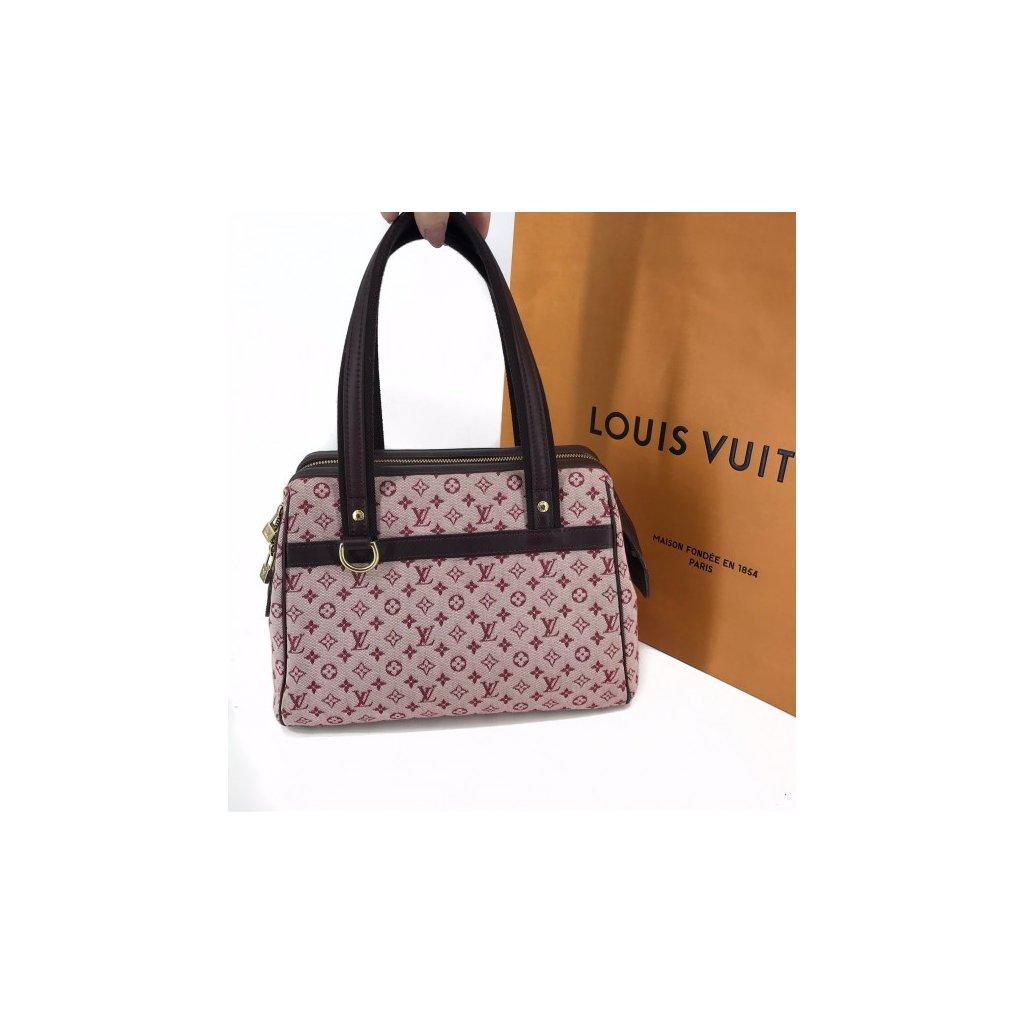 LOUIS VUITTON Monogram Idylle Canvas Sepia Handbag