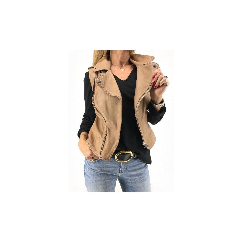 I.A.M. Leather Vest