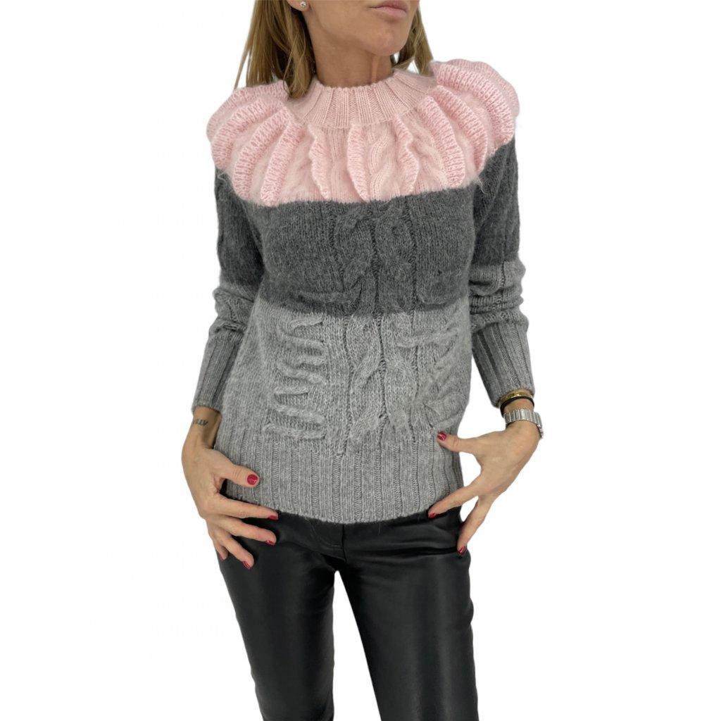 CHANEL Alpaca&Cashmere Sweater NEW
