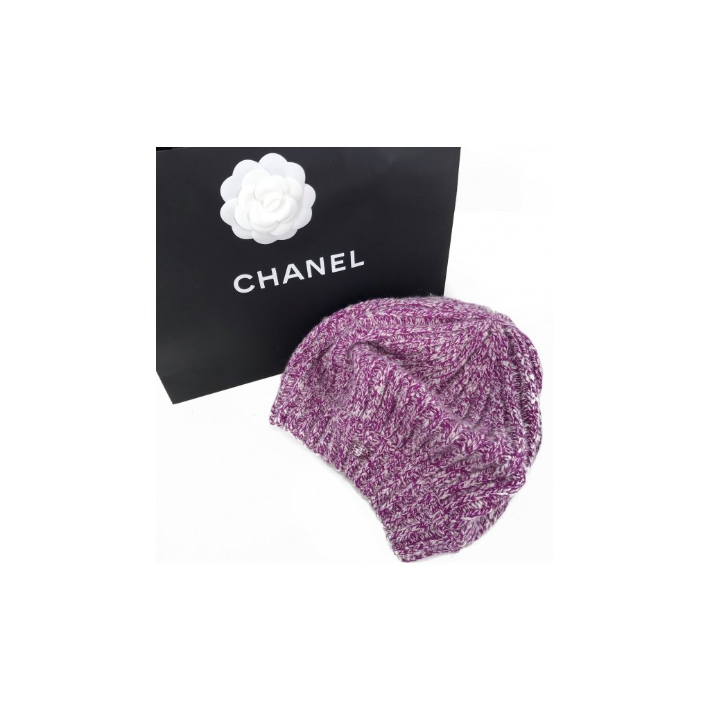 CHANEL Cashmere Beret NEW