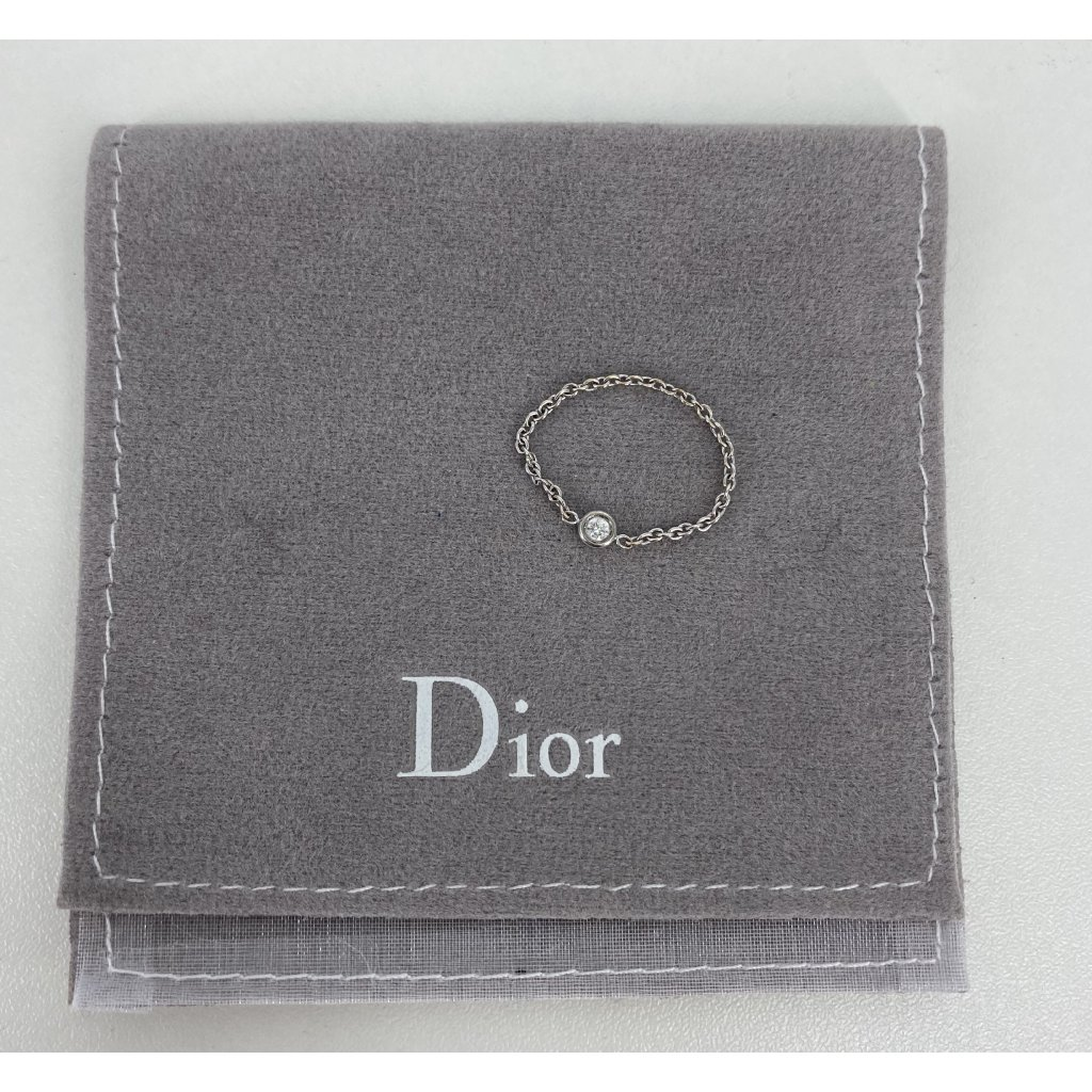 CHRISTIAN DIOR Mimioui Diamond Chain Ring