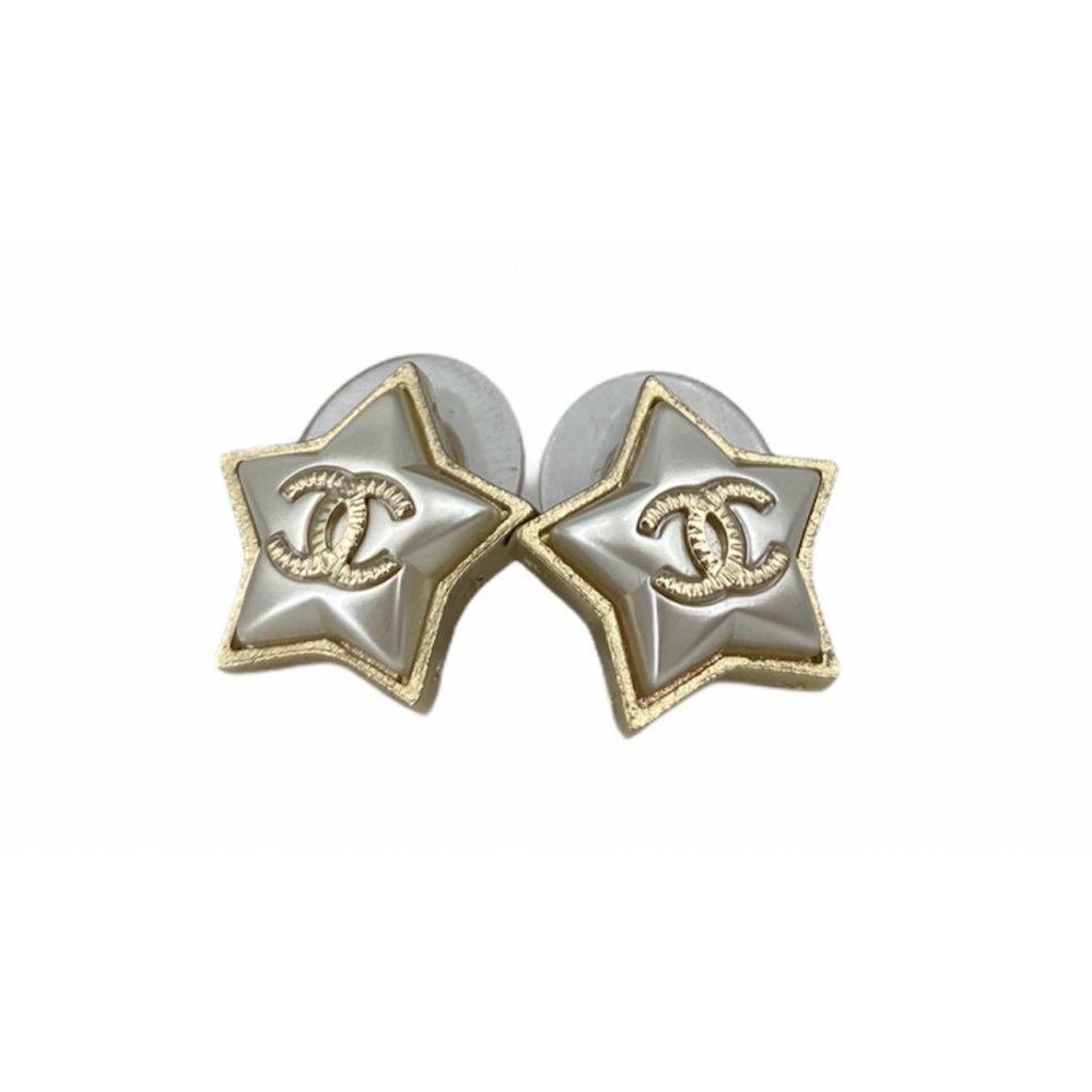 CHANEL Star Earrings vintage