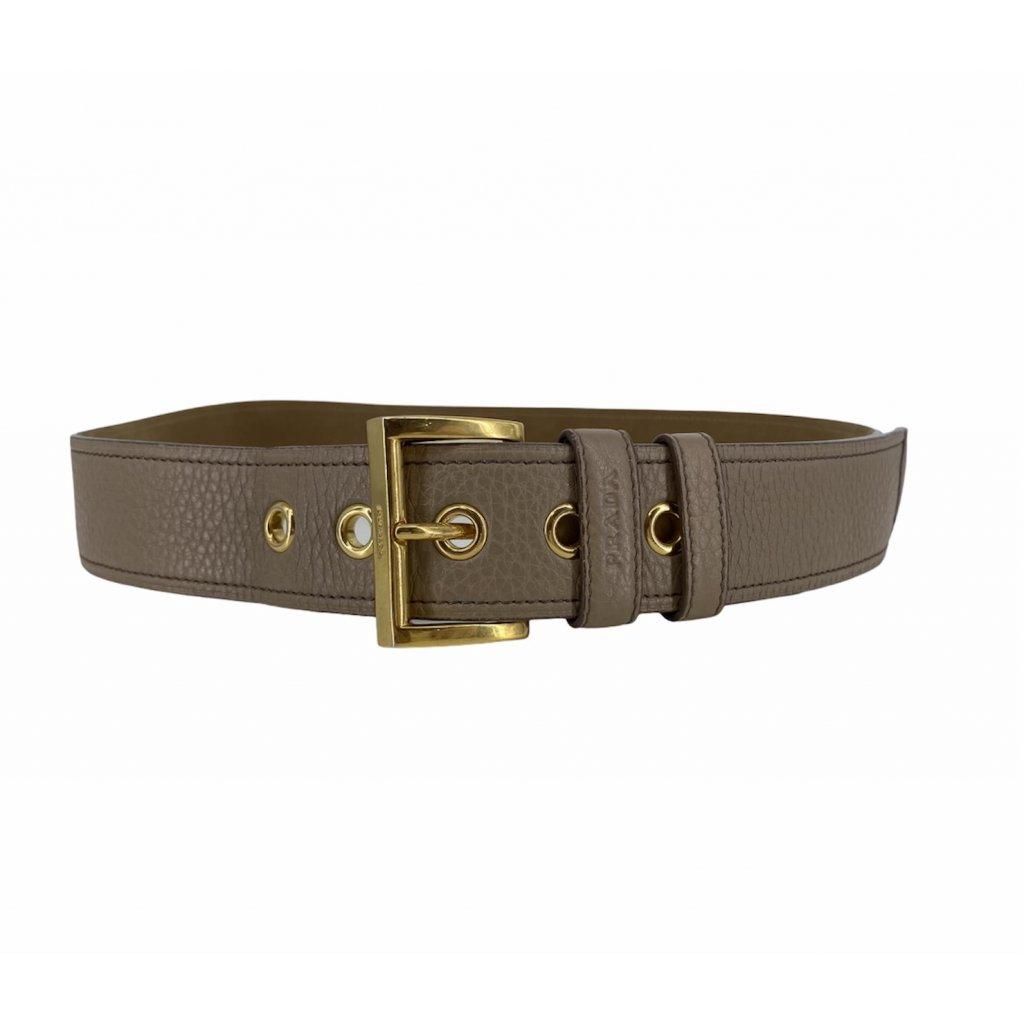 PRADA Brown Belt