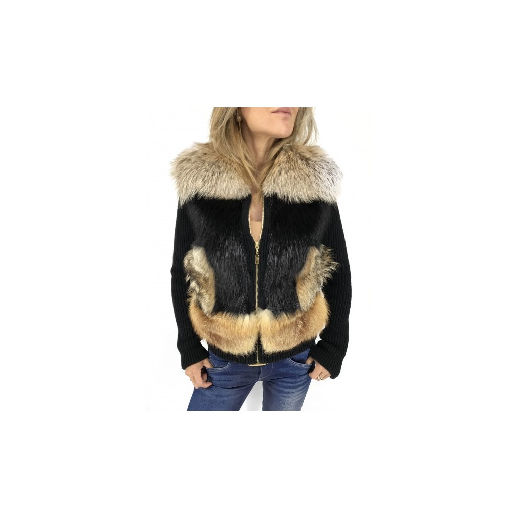 LOUIS VUITTON Fur Coat NEW