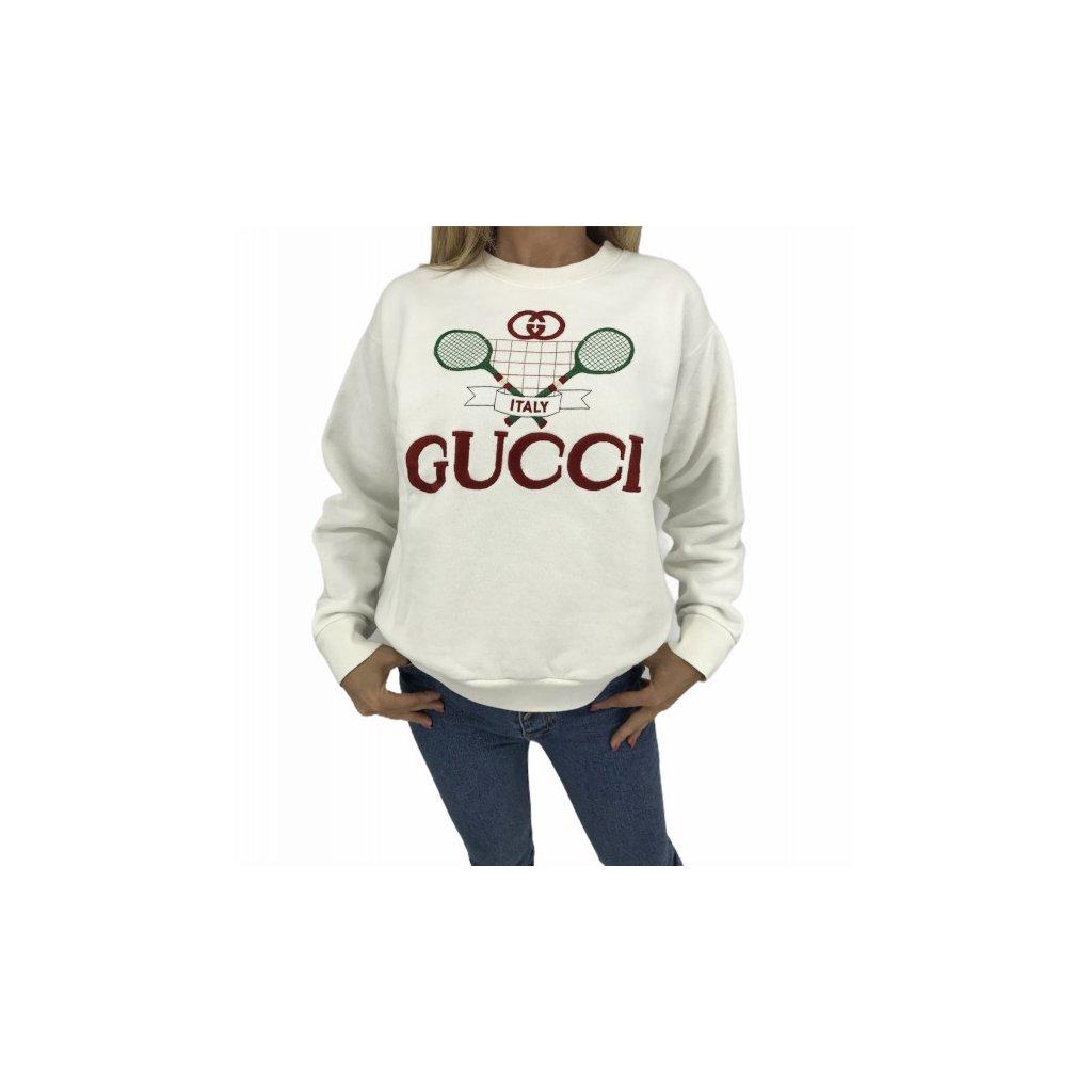 GUCCI Tennis oversized sweatshirt