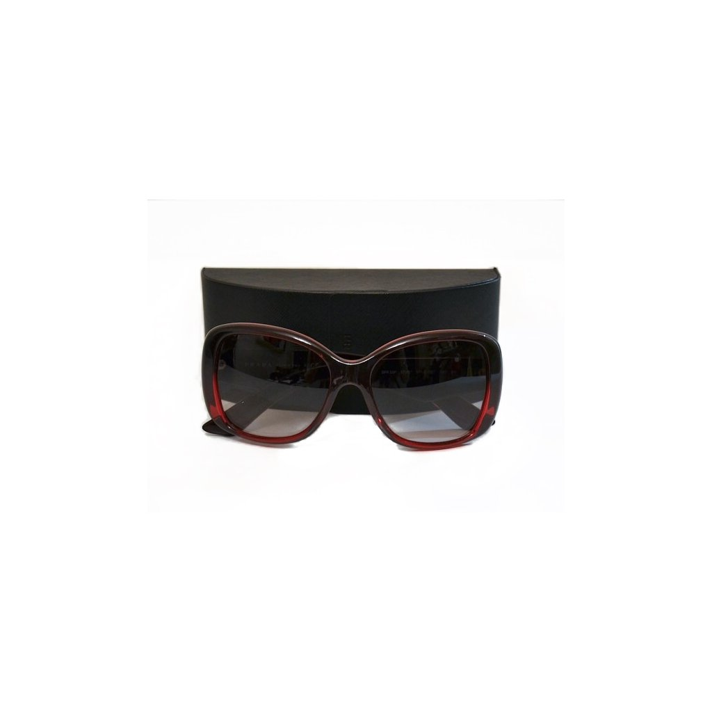 PRADA Red Sunglasses