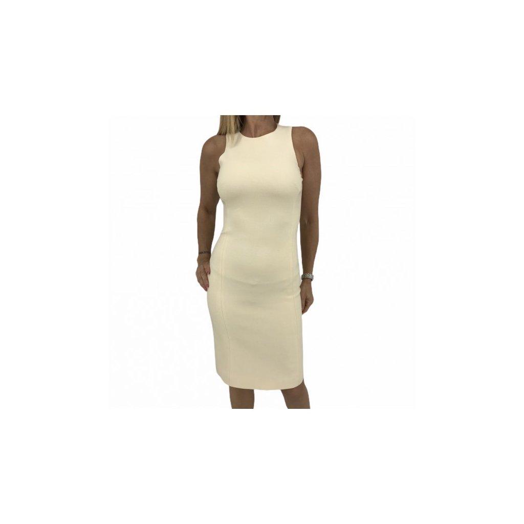 VERSACE Cream Biege Dress