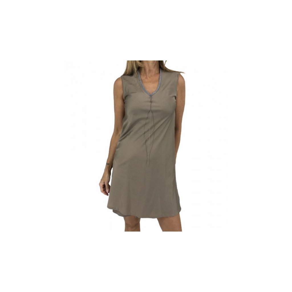 CUCINELLI Beige Dress