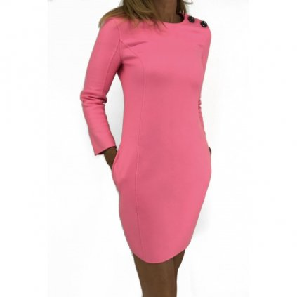 Christian Dior pink 100% cashmere dress