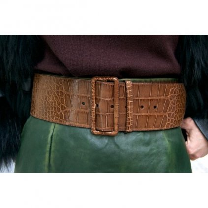 Prada lizard skin belt NEW - actual collection
