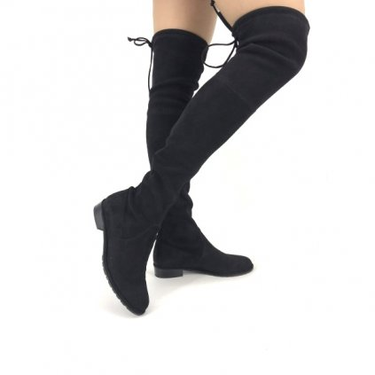 STUART WEITZMAN Black High Boots New