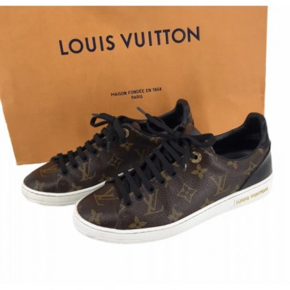 LOUIS VUITTON Monogram Canvas Frontrow Sneakers