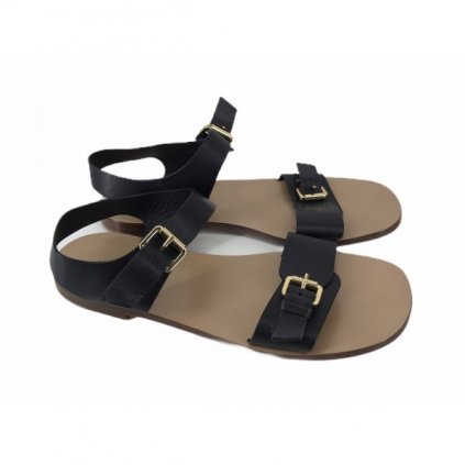 MANSUR GAVRIEL Black Sandals NEW 38