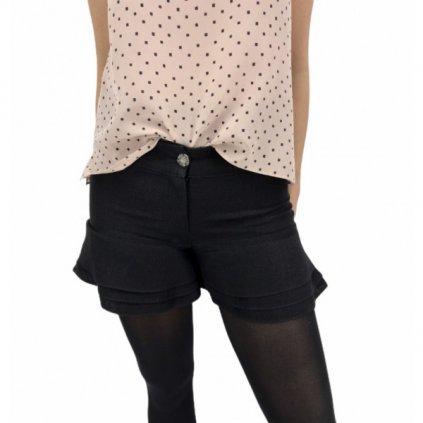 CHANEL Black Shorts