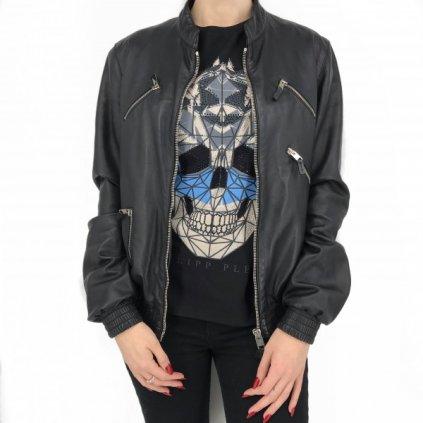 CHRISIAN DIOR Leather Unisex Jacket