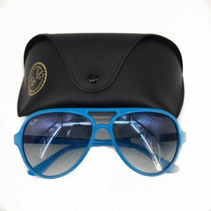RAY BAN Blue Sunglasses