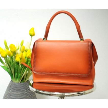 MAX MARA Orange Handbag NEW