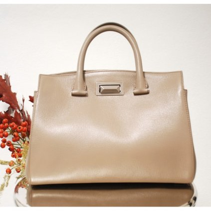 MAX MARA Hollywood Leather Handbag NEW