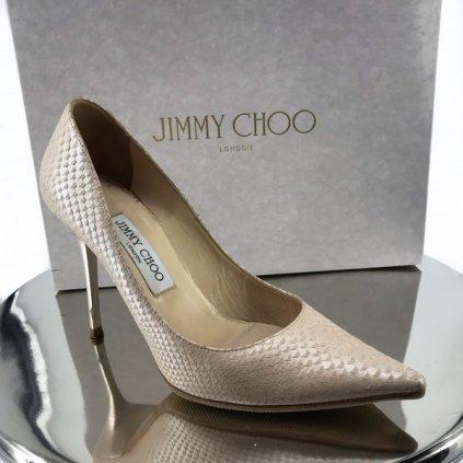 JIMMY CHOO Rose High Heels 37