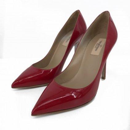 VALENTINO Red High Heels 38