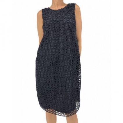 MAX MARA Dark Blue Dress