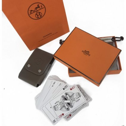 HERMÉS Leather Card Holder