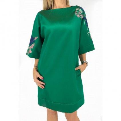 BLUMARINE Green Dress