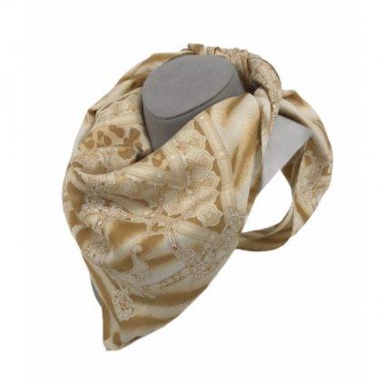 ESCADA Leopard Silk Scarf