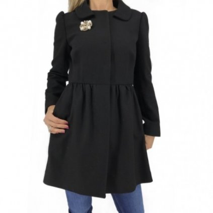 RED VALENTINO Black Coat NEW