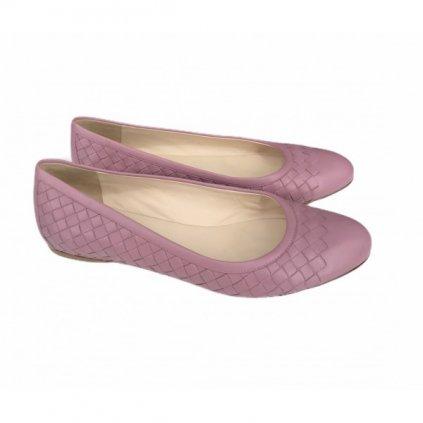 BOTTEGA VENETA Pink Ballerinas