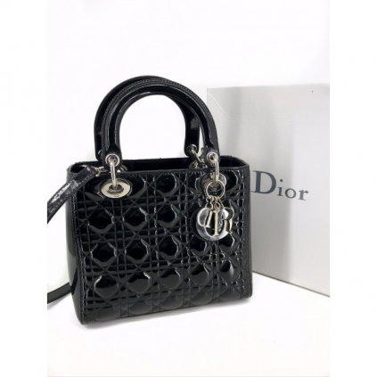 CHRISTIAN DIOR Lady Dior Noir Handbag