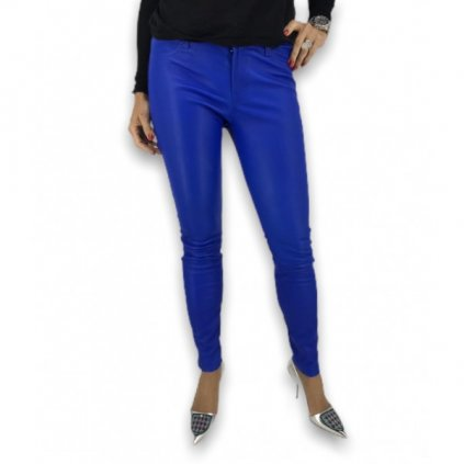 J BRAND Blue Lamb Leather Pants