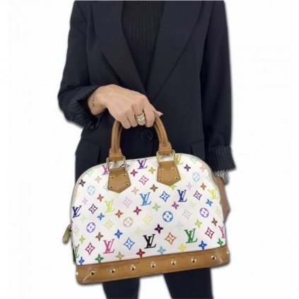 LOUIS VUITTON Multicolor Alma Handbag