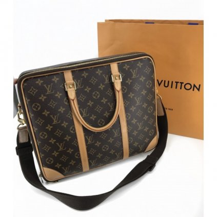 LOUIS VUITTON Porte-Documents Monogram Canvas GM Bag