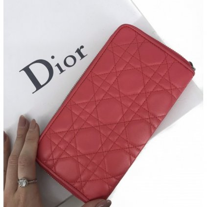 CHRISTIAN DIOR Pink Wallet