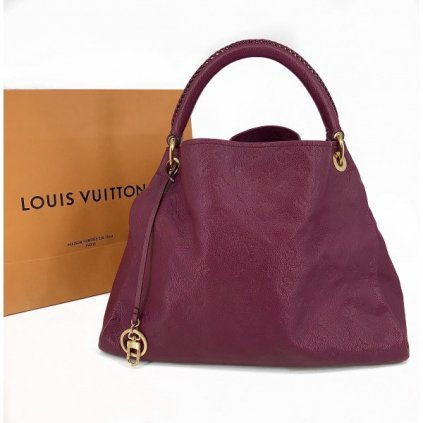 LOUIS VUITTON Artsy MM Scarlet Monogram Empreinte Leather Bag